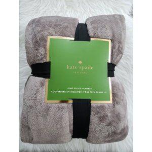 NWT//Kate Spade// Queen Size Fleece Blanket